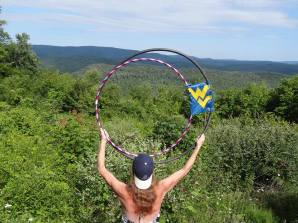 Cheat Mtn Summit and Hula Hoops by Amy Mitchem